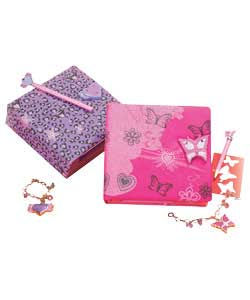 Diaries Electronic Diary and Charm Bracelet Asst