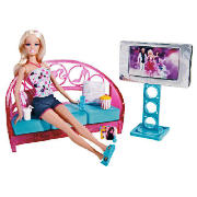 Doll & Furniture Living Room