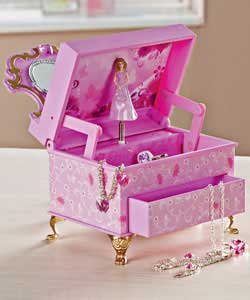Dressing Table Musical Jewellery Box