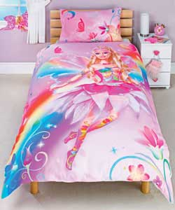 Fairytopia Single Duvet Cover Set - Pink