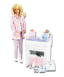Happy Family Baby Doctor Barbie