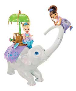 Island Princess Twirl and Swirl Tika the Elephant