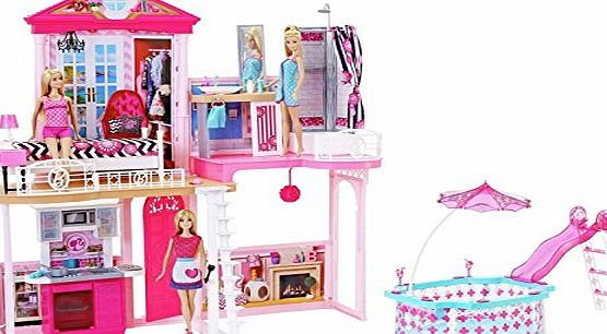 Barbie My Style The Complete Home Set includes 3 Dolls amp; 3 Furniture Sets