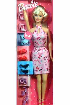 Shoe Collection Doll