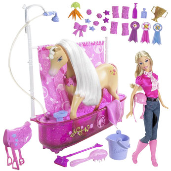 Shower and Show Horse Set with Doll