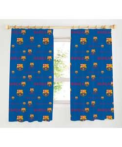 Football Curtains 66 x 54in