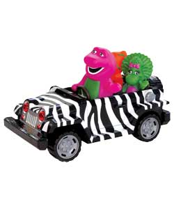 Barney Push and Go Jeep