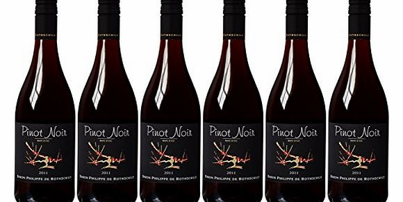 Pinot Noir Red Wine 75cl (Case of 6)