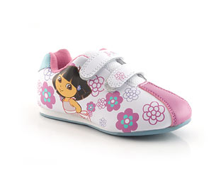 Dora Twin Velcro Trainer - Infant