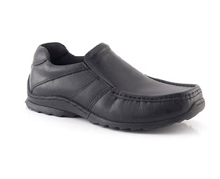 Leather Slip On Casual Shoe - Junior