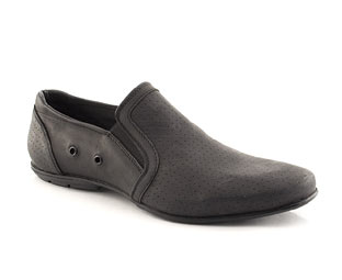 Leather Slip On Casual Shoe