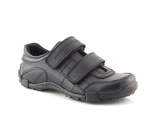Leather Twin Velcro Shoe - infant