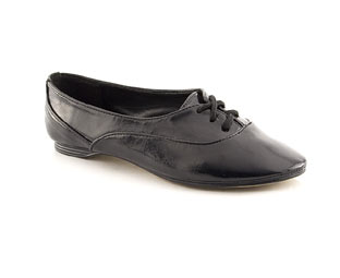 Patent Lace Up Jazz Shoe - Junior