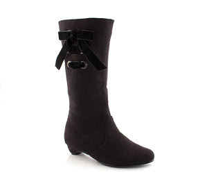 Smart High Leg Boot With Lace Up Detail - Infant