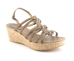 Strappy Wedge Sandal - Junior