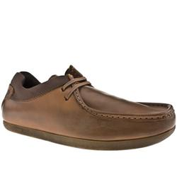 Male Base Format Trapper Leather Upper in Tan