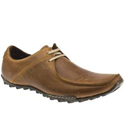 Male Compete Asym Leather Upper in Tan