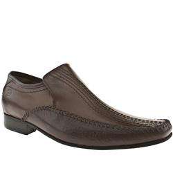 Male Perform Stch Loafer Leather Upper in Dark Brown
