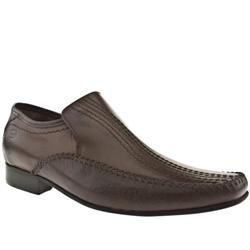 Male Perform Stitch Loafer Leather Upper in Dark Brown