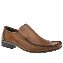Male Phantom Moccasin Leather Upper in Tan