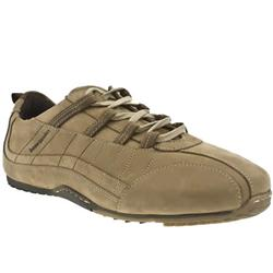 Male Speed Ghilli Leather Upper in Beige