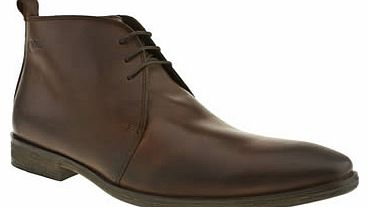 mens base london brown spice derby shoes
