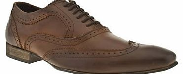 mens base london tan spice wing oxford shoes