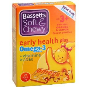 Soft & Chewy Omega-3 & Vitamin ACDE -