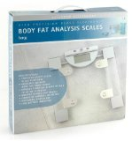 High Precision Glass Electronic Body Fat Analysis Bathroom Scales