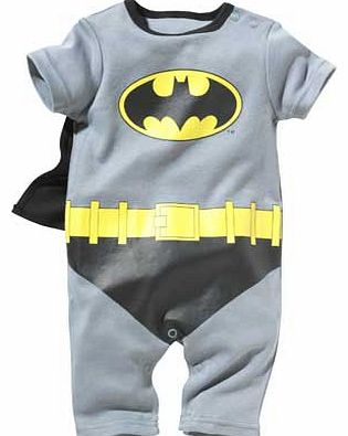 Batman Baby Boys Dress Up Romper - 0-3 Months