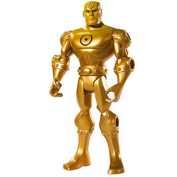 Brave and Bold Figure - Gold Metal Man