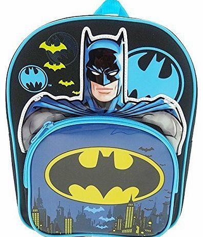 Childrens Backpack Batman Novelty Backpack 8.5 liters Black (Blue/Black) BATMAN001018