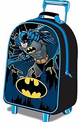 Childrens Luggage Batman Wheeled Bag 15 liters Black (Blue/Black) BATMAN001015