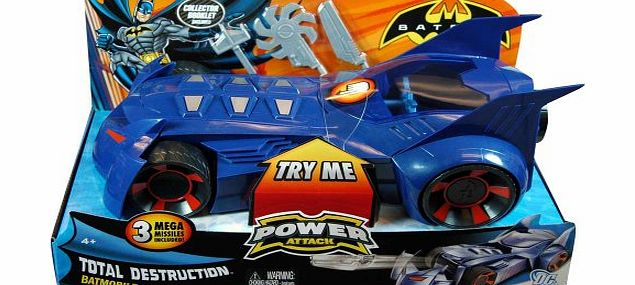 Power Attack Total Distruction Batmobile Vehicle