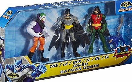 Batman Unlimited Robin and The Joker Figure (Pack of 3)