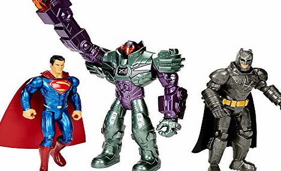 Batman vs Superman Action Figure - Pack of 3