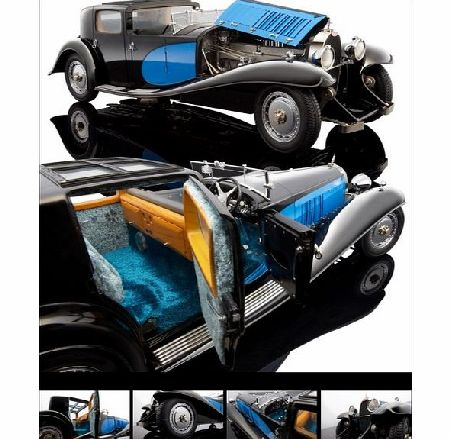 Bugatti Royale Coupe De Ville 1931 Blue