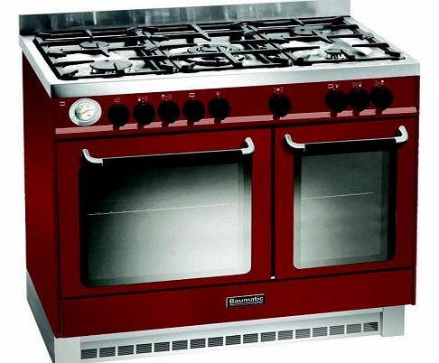 BCD925BDY Dual Fuel Range Cooker Free Standing Red