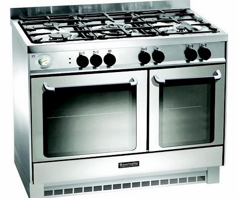 BCG925SS Gas Range Cooker Free Standing Stainless Steel