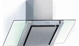 BE700GL Angled Stainless Steel & Glass
