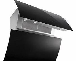 BEO910BGL Curved Angled 90cm Chimney