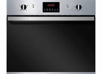 BO625SS 60cm Fan Assisted Electric Built-in Single Oven In Stainless Steel