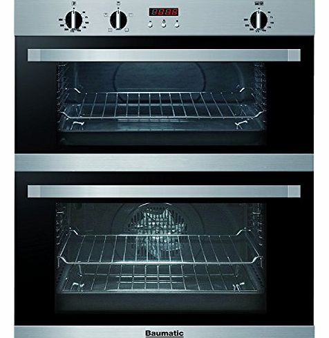 BO796.6SS 72cm Integrated Built-in Electric Double Oven