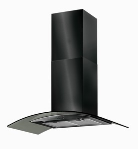 BT9.3BGL Black Chimney Hood BT9.3BGL
