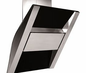 BTC918GL Angled 90cm Chimney Hood in