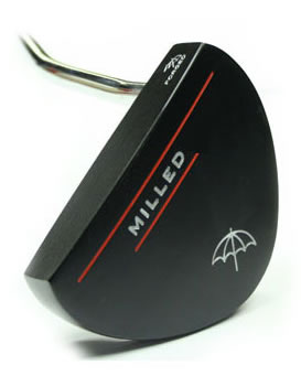 by Palmer Golf Milled Storm Putter