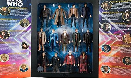 BBC Doctor who 5.5 inch 13 doctors figure set