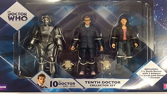BBC Doctor who tenth doctor collector figures set