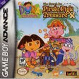 Dora The Explorer The Search For Pirate Pigs Treasure GBA