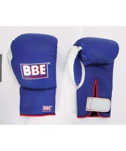 10oz Sparring Gloves - Blue and White